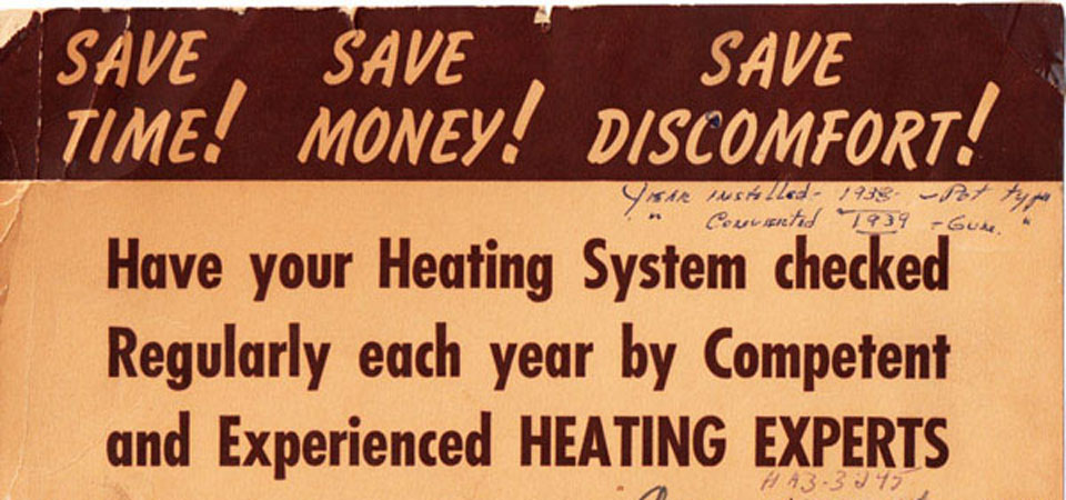 Old Rapid Heating Advertisement